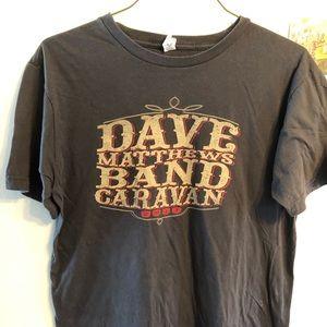 Dave Matthews Band Caravan Tour Shirt 2011